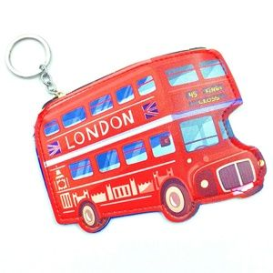 Other - LONDON BUS KEYCHAIN & COIN PURSE